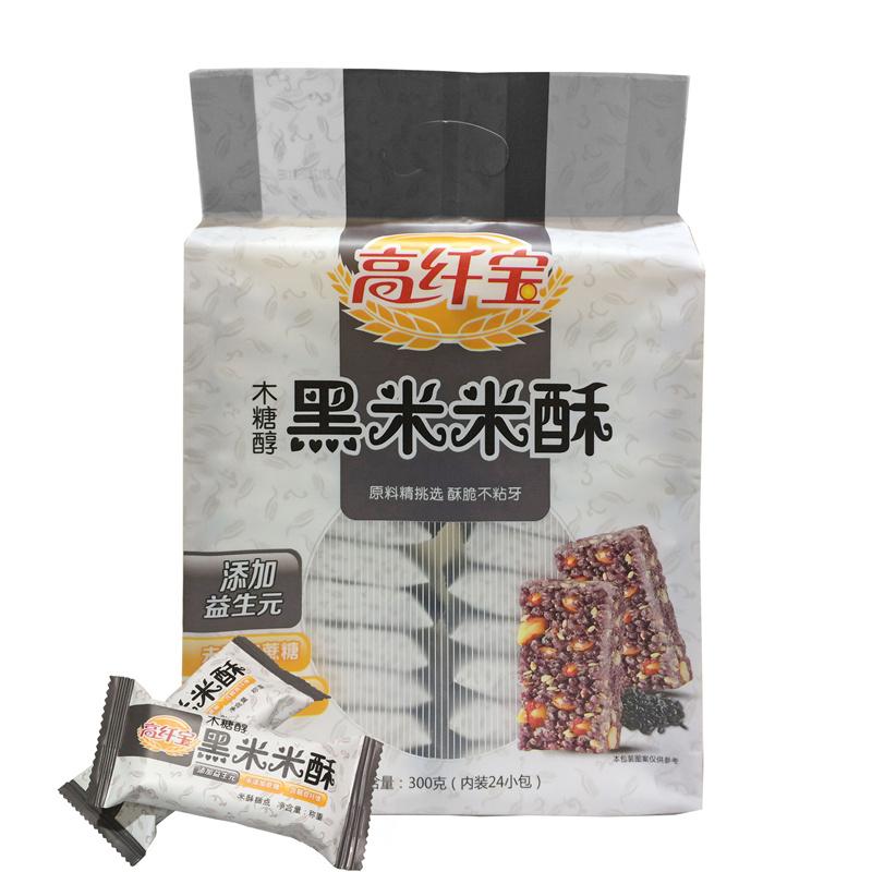 高纤宝新品——木糖醇黑米米酥